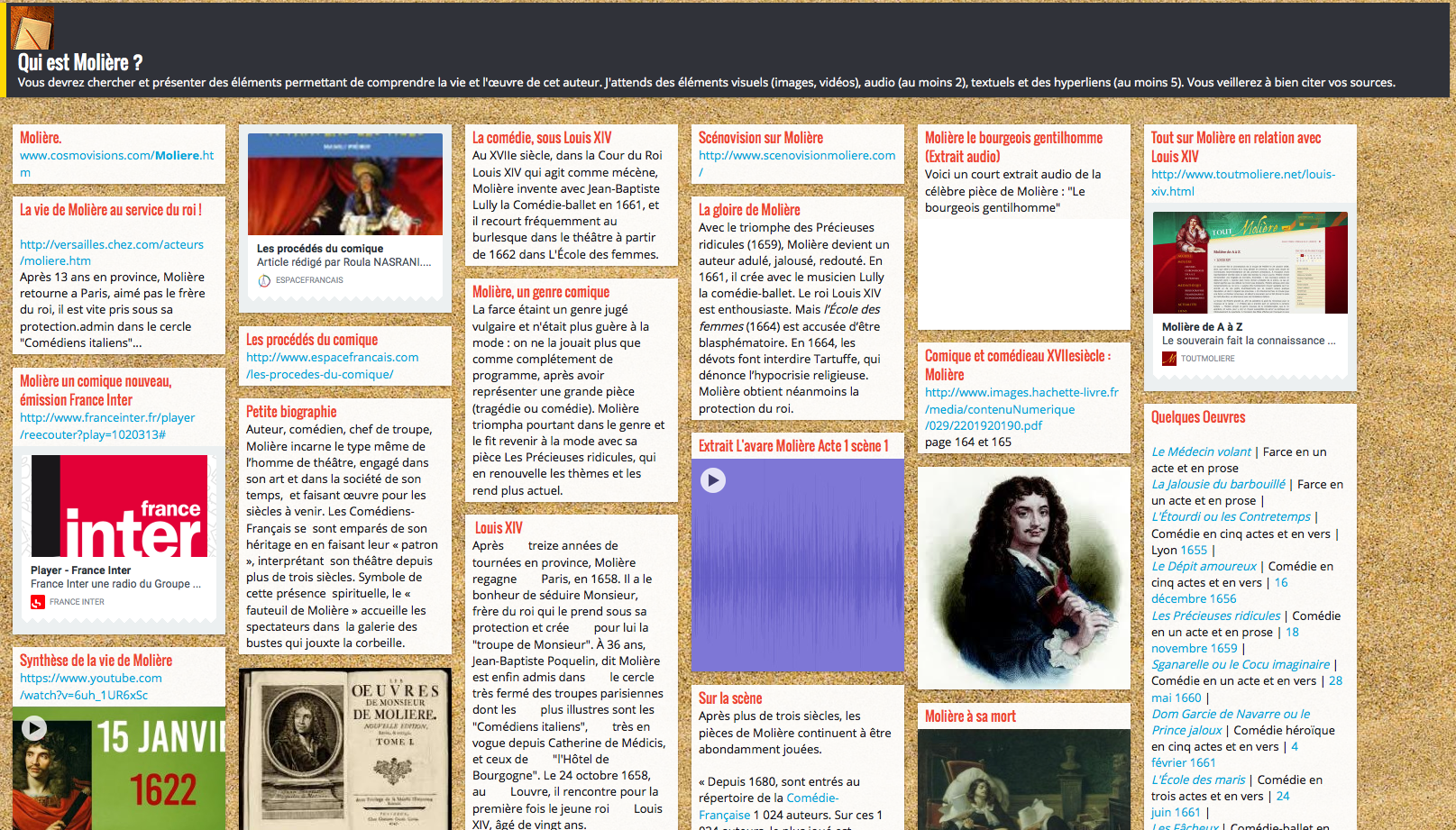 padlet-Moliere